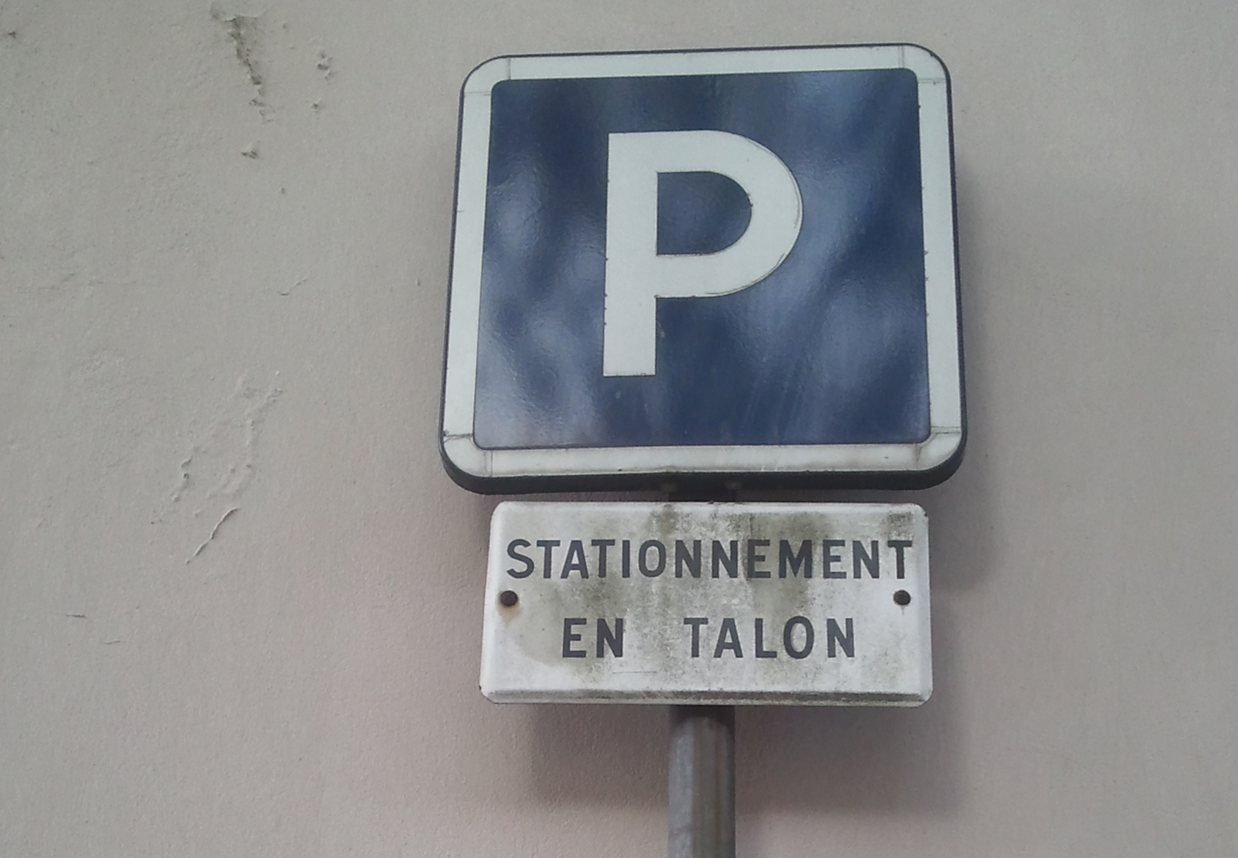 parking en talon